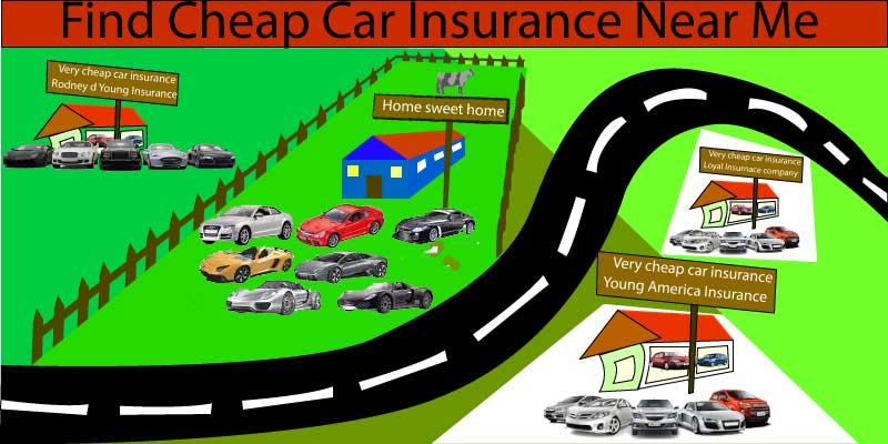 find cheap car insurance near me