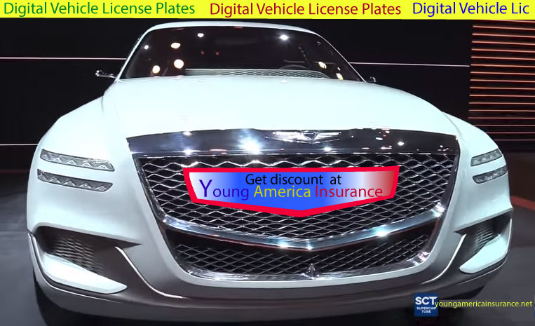 Digital Vehicle License Plates