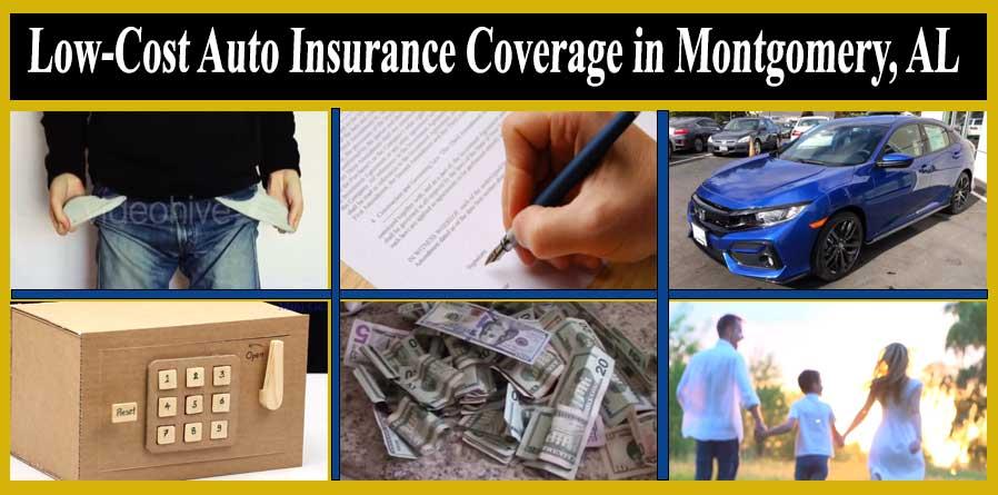 Low-Cost Auto Insurance Coverage in Montgomery, AL