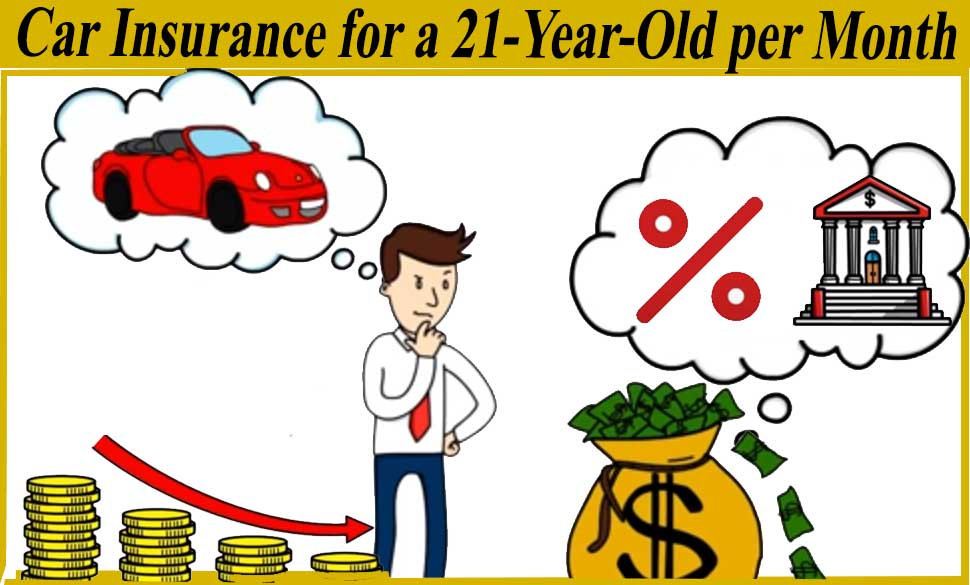 Car Insurance for a 21-Year-Old per Month